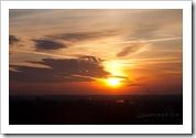 Indianapolis sunrise