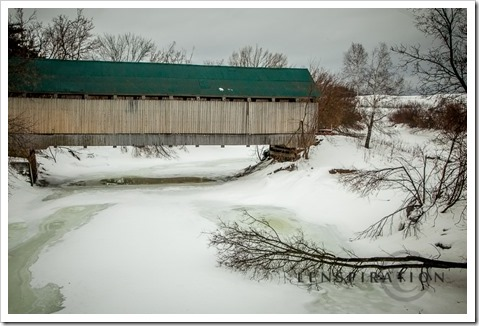 9206_Drouin Covered Bridge-Waterville-QC_Canon EOS 5D Mark II, 32 mm, 1-160 sec at f - 9.0, ISO 400