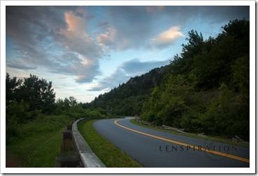 Enjoying the Blue Ridge Parkway