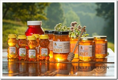 Honey Products Photography Shoot