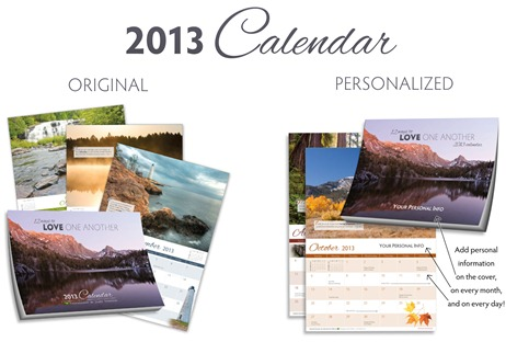 The 2013 Calendar is Available!