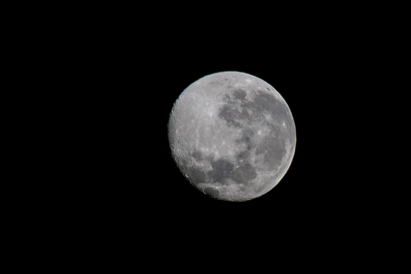 Regular Moon Detail