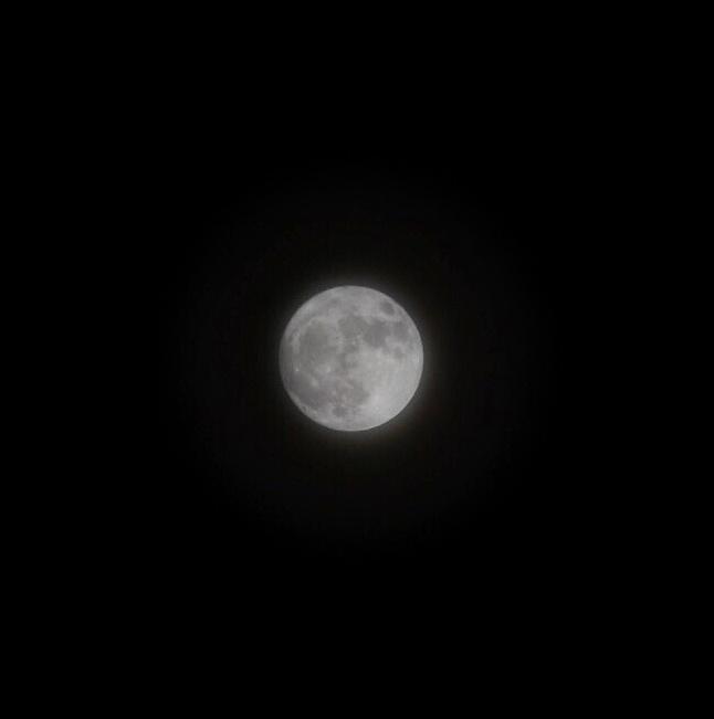 Moon and adobe Lightroom