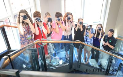 A Creative Perspective on the Photography Team Group Shot