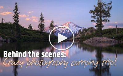 Crazy Photography Camping Trip!