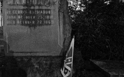 Civil War Era Tombstone