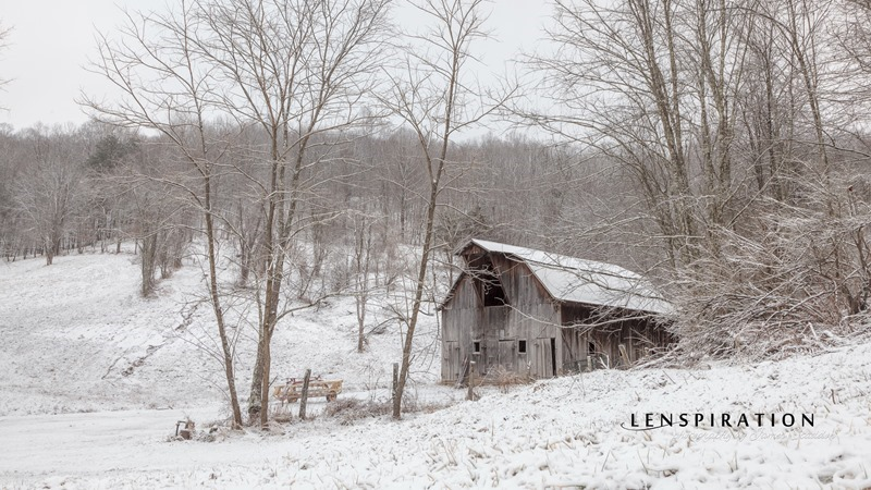 Nonely Old Barn in the Foothills
