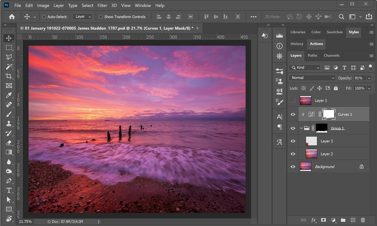 Photoshop cover